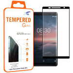 3D Curved Tempered Glass Screen Protector for Nokia 8 Sirocco - Black